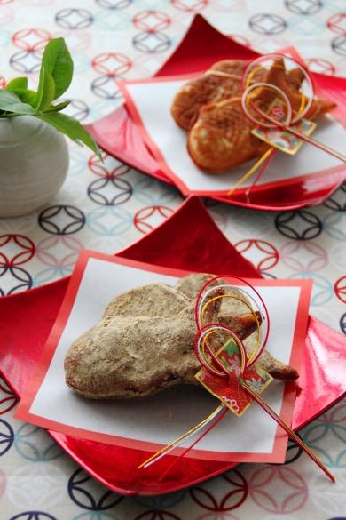大豆と米糀の「きなこたい焼き」