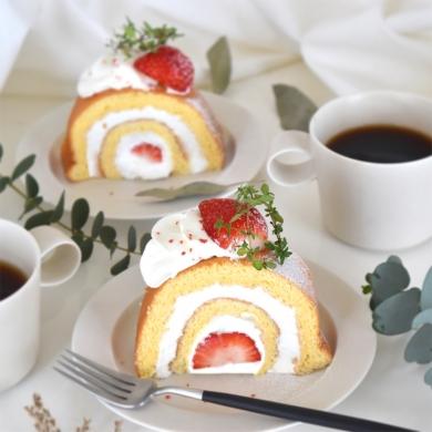 巻かないロールケーキ