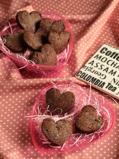 * 病み付き ♡ そば粉のチョコチャンク・クッキー♪