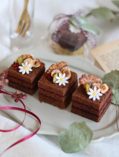 ひとくちチョコケーキ