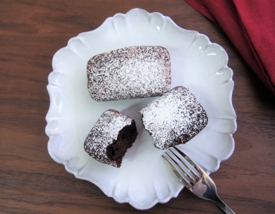 米粉で作る「ガトーショコラ」