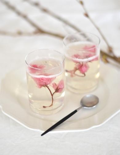 桜咲く!しゅわしゅわゼリー