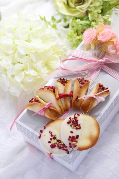 花束のクッキー