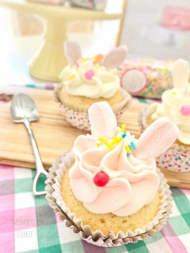 ファンシーうさちゃんカップケーキ♡