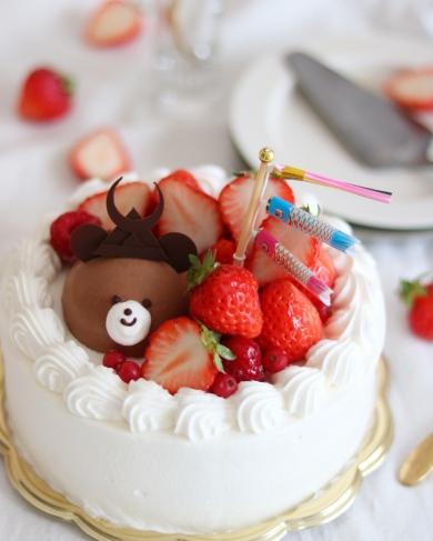 くまさんのこどもの日デコレーションケーキ