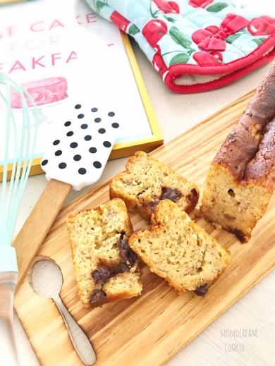 低糖質で罪悪感無し!?大豆粉とバナナのスリムパウンドケーキ