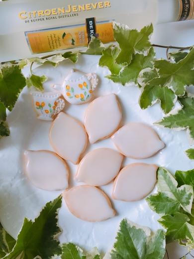 アイシングレモンクッキー ♪
