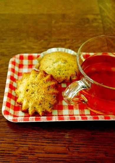 レモンと紅茶のミニカップケーキ♪