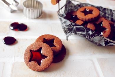 ほろ苦☆大人のステンドグラスクッキー
