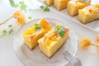 ほわほわしっとり簡単オレンジケーキ
