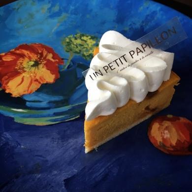 Pumpkin cheesecake パンプキンチーズケーキ