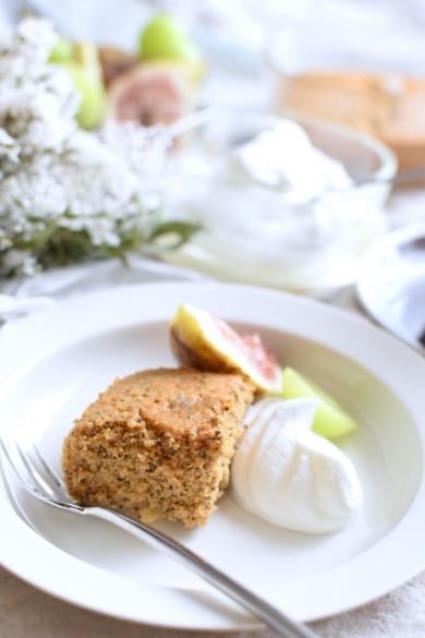 ミルクティーとホワイトチョコのバターケーキ☆グルテンフリー☆