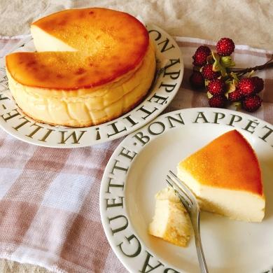 黄金のスイートポテトチーズケーキ