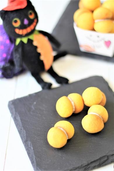 コロコロサクサクかぼちゃのクッキー(バーチ・ディ・ダーマ)