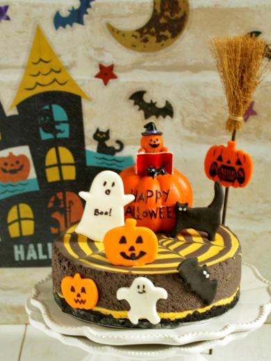 * ハロウィン ♡ スパイダーチーズケーキ♪