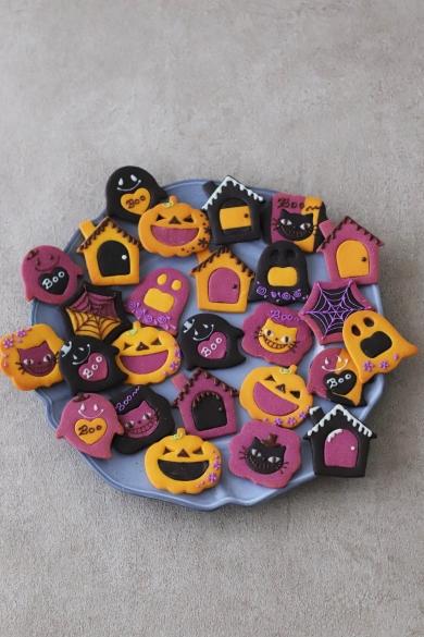 ハロウィン3色クッキー