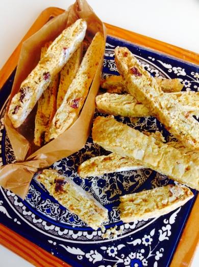 オーブン不要!トースターdeはちみつ風味の贅沢ビスコッティー