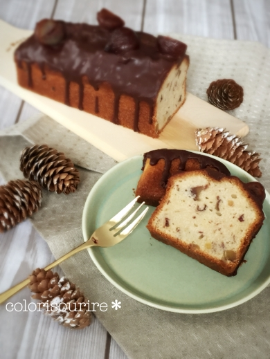栗のバニラパウンドケーキ