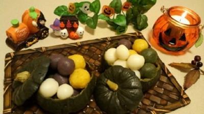 カボチャ器の野菜団子