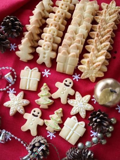 クリスマス☆さくさく型抜きクッキー