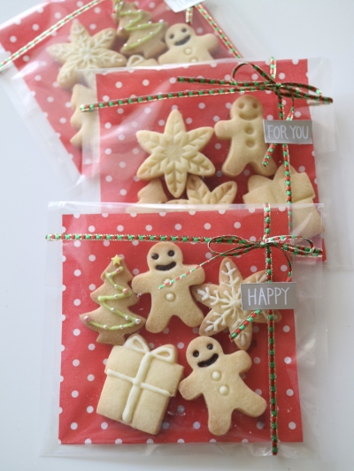 クリスマスクッキー☆ラッピング
