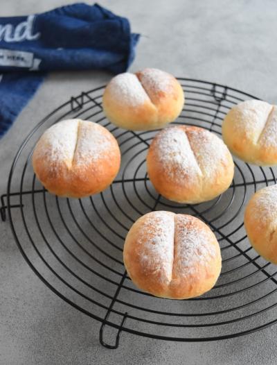 30分でこねずにできる魔法のパン*ヨーグルトテーブルパン