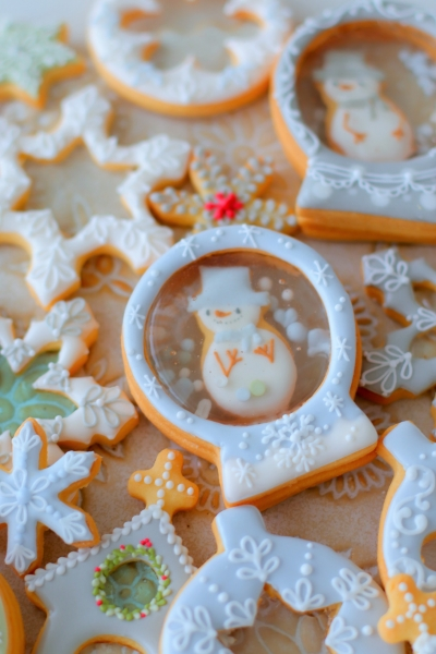 クリスマスステンドグラスクッキー