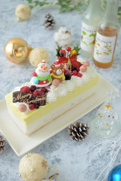 牛乳パックで☆マンゴー・ココ・パッションのアイスケーキ