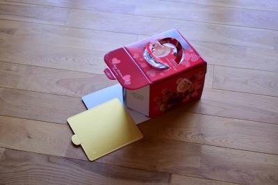高さのある箱で持ち運びもラクラク。
