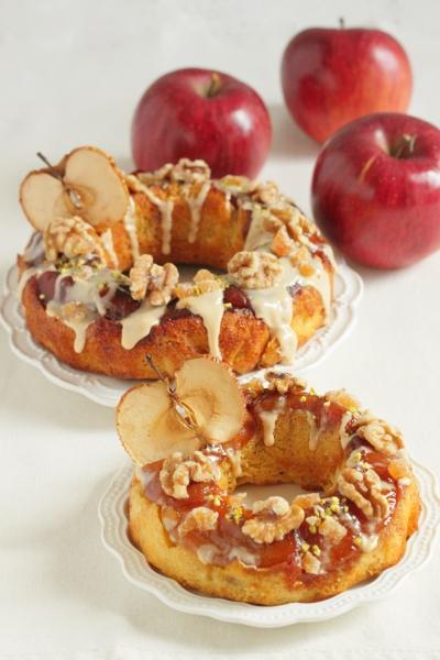 * タルトタタン風 ♡ りんごのアップサイドダウンケーキ♪
