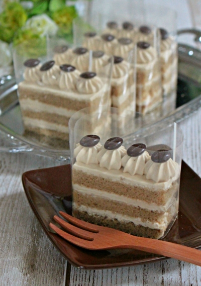 モカショートケーキ