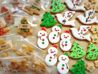 色々クリスマスクッキー