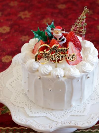 *めちゃ簡単☆苺のデコレーションケーキ♪
