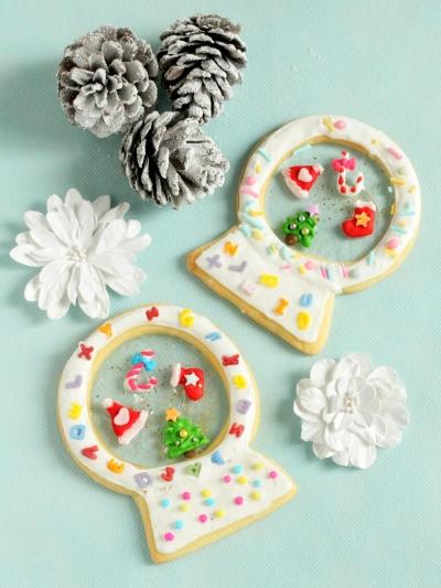 *クリスマス☆スノードームクッキー♪