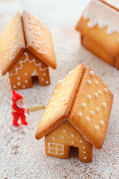 クッキーで作る、ちいさなおうち「ヘクセンハウス」
