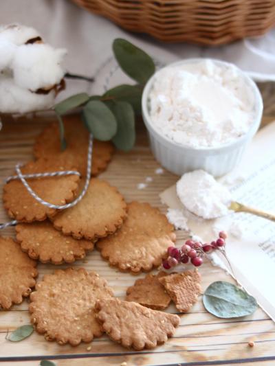 ヘルシーごまクッキー