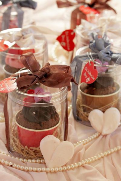 *バレンタイン♡カップケーキのラッピング♪