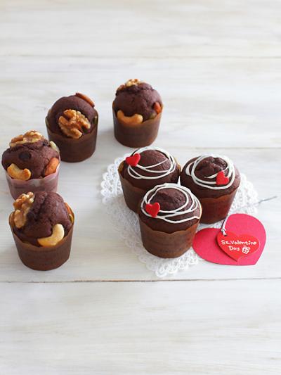 チョコマフィン★バレンタインにも♪