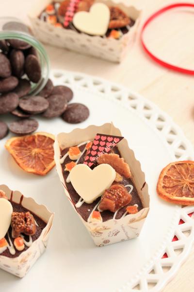 簡単!!てんさい糖で作る♪フルーツショコラテリーヌ