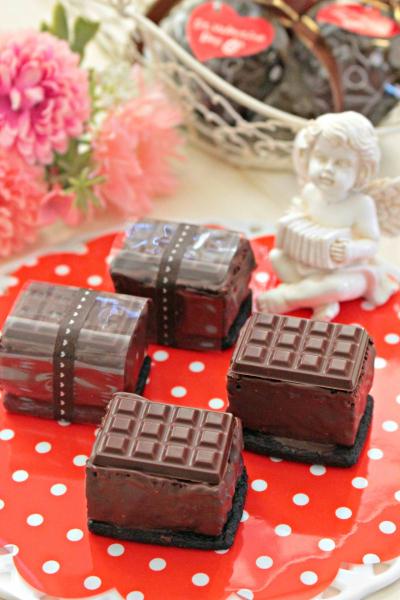 チョコたっぷり♡石畳ブラウニー