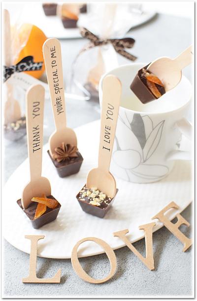 簡単☆チョコレートスプーン