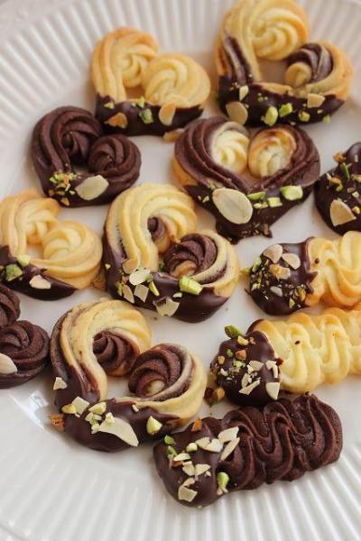 1度に3種類作れる絞り出しクッキー