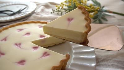 タルトカップで簡単☆レアチーズケーキ