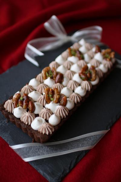 Wクリームチョコタルト