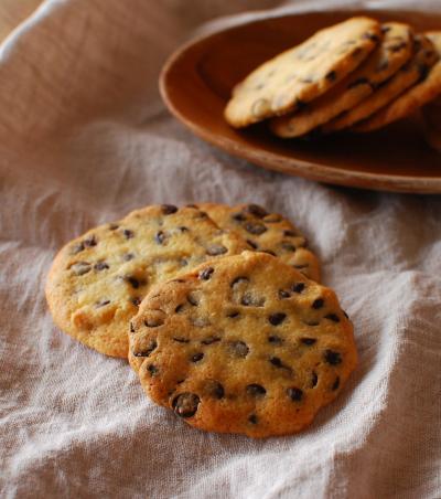 ザクザクおいしい♪ チョコチップクッキー♪