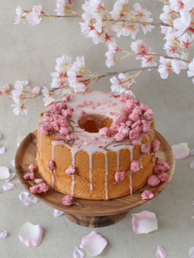 桜香る♪華やか桜シフォン