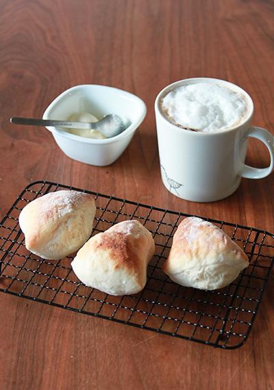 基本の作りおきパン 最短1時間で焼きたて!