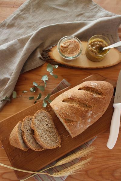 基本のライ麦パン
