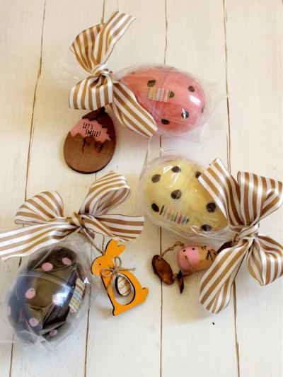 * イースター ♡ 手作りチョコエッグのラッピング♪