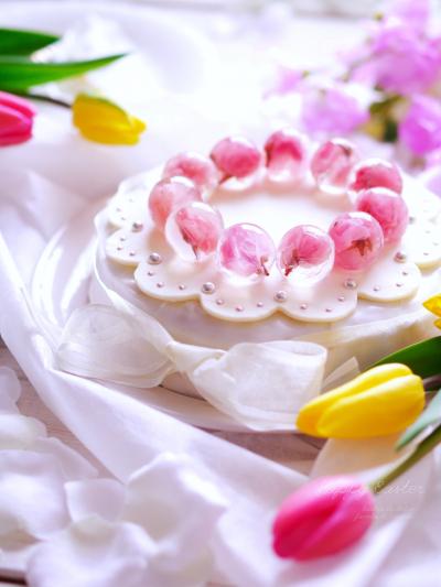 簡単なケーキをデコレーションで可愛らしく! シムネルケーキ風